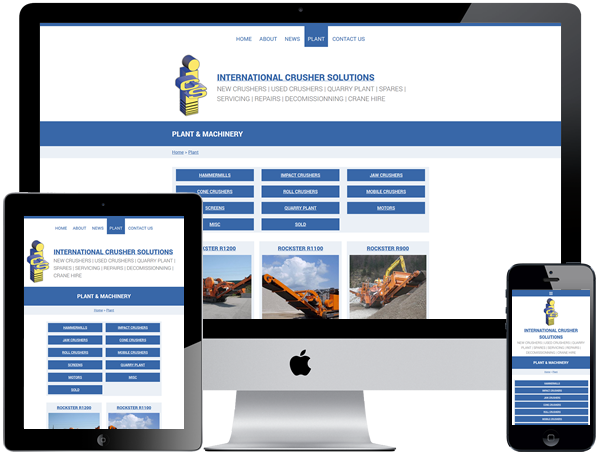 International Crusher Solutions Responsive Designs